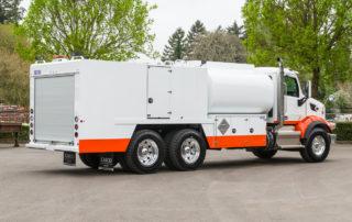 Open Style Fuel Lube Truck